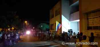 Comunidad de Talaigua Nuevo, Bolívar, clausura sede de la Alcaldía - RCN Radio