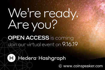 Hedera Hashgraph Set to Launch Beta Mainnet and HBAR Tokens Next Month - Coinspeaker