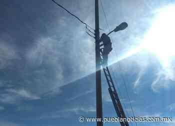 Construyen baños e instalan luminarias en San Jerónimo Caleras - Puebla Noticias