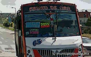 Atracan la ruta 65 en San Jerónimo, Puebla - Municipios Puebla