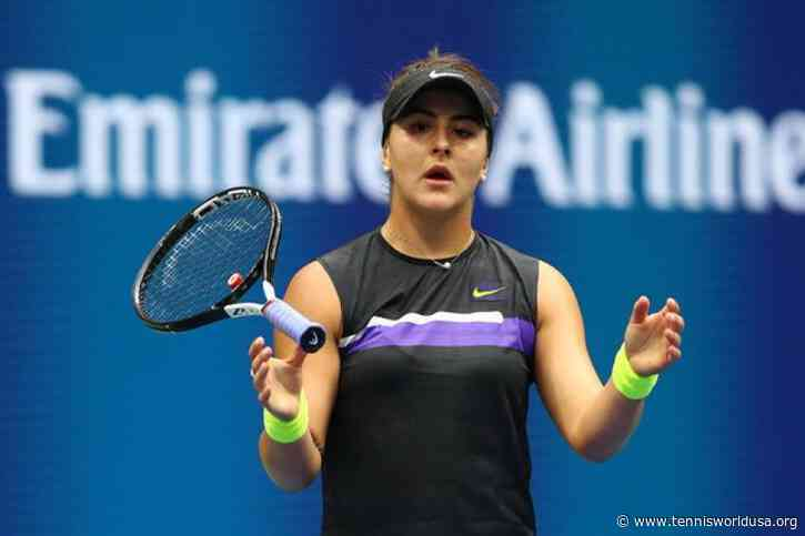 US Open champion Bianca Andreescu suffers another setback, withdrawing from Dubai