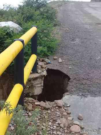 Ediles y vecinos constatan mal estado de la ruta a San Jacinto en Tarija - El País