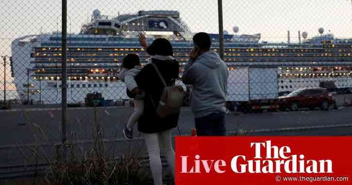 Coronavirus: China death rate appears to slow as 39 new cases found on cruise ship – latest news