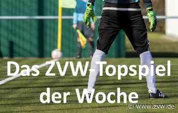 SG Oppenweiler gewinnt ZVW-Topspiel der Woche - Zeitungsverlag Waiblingen
