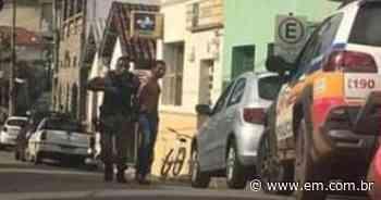 Bandidos armados tentam roubar agência dos Correios em Raposos - Estado de Minas