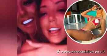 Inside wild Geordie Shore reunion as Charlotte Crosby and Chloe Ferry hit Dubai