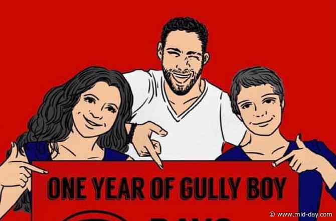 Siddhant Chaturvedi shares a quirky picture marking 3 days to 1 year of Gully Boy