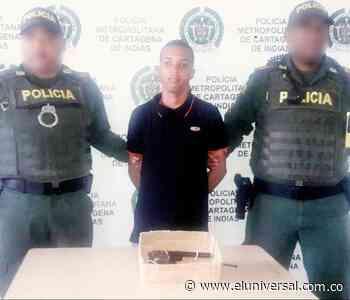 Policía capturó a dos hombres con armas de fuego en Turbaco - El Universal - Colombia