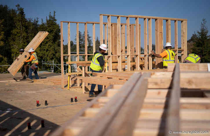 Wakeup call: Housing construction dropped last year in California