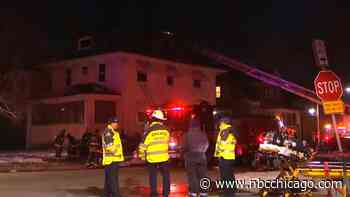 Man Rescued From Roof of Burning Home in Austin