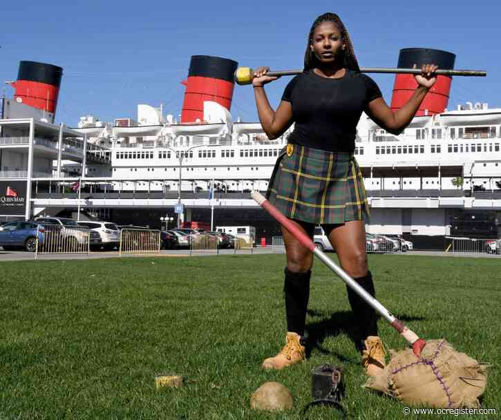 Meet 3 of the women competing in the Queen Mary's Highland Games