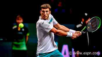 Busta causes upset, beating Agut in Rotterdam