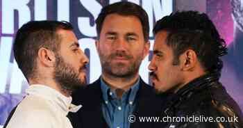 Eddie Hearn on why Newcastle has become 'the premier destination' for British boxing fans
