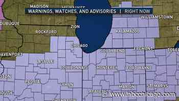 Timing: When the Snow, Cold Will Hit the Chicago Area