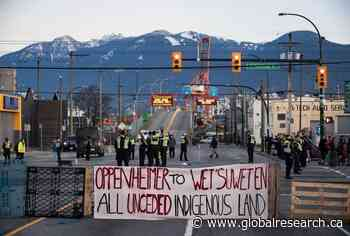 Wall Street Invading Wet'suwet'en First Nation Territory. Uprising Across Canada