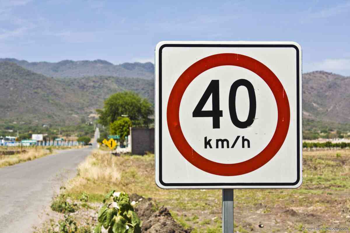 Speed limit dropping on sections of two South Porcupine streets - TimminsToday