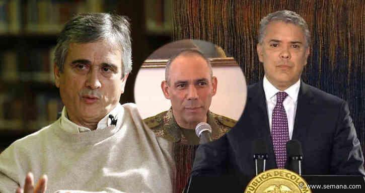 """""""Zapateiro es indigno del cargo que usted le encomendó"""": el reclamo de Iván Marulanda a Duque - Semana.com"""