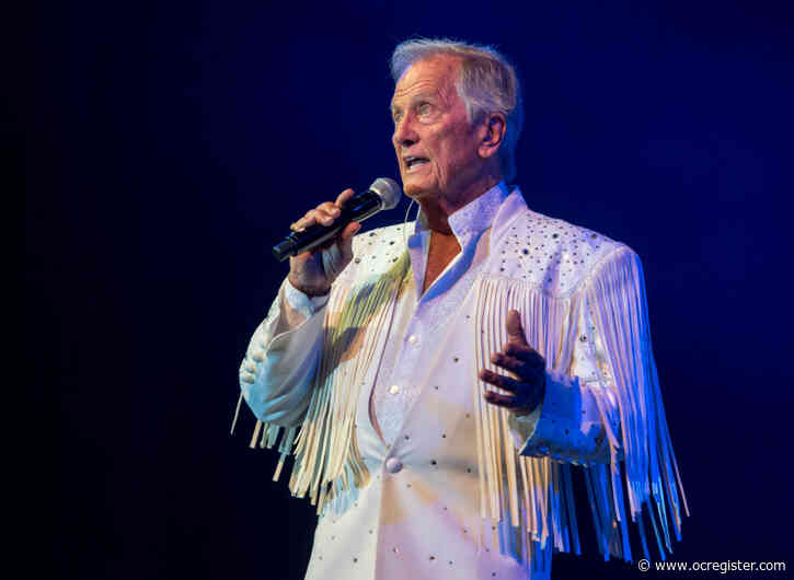 At 85, singer Pat Boone says he's ready for the end, but will do one last concert in Southern California