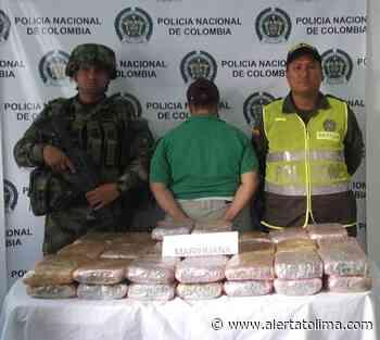 Noticias del Tolima: Mujer detenida con droga en Ataco Tolima - Alerta Tolima