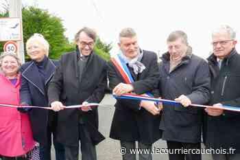 Octeville-sur-Mer. Inauguration du nouveau carrefour sur la RD 940 - Le Courrier Cauchois