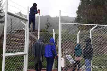 Áncash: pluviómetro alertará del peligro por lluvias intensas en Pomabamba - Agencia Andina