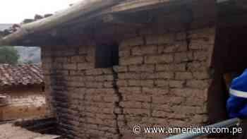 Áncash: Extraño fenómeno causa rajaduras en 15 viviendas de Pomabamba - América Televisión