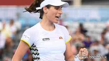 St Petersburg Ladies Trophy: Johanna Konta returns with doubles win