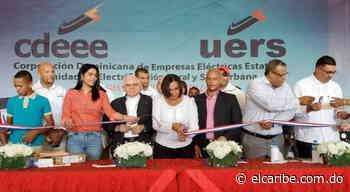 UERS entrega obras de redes eléctricas en Bohechío, San Juan - El Caribe