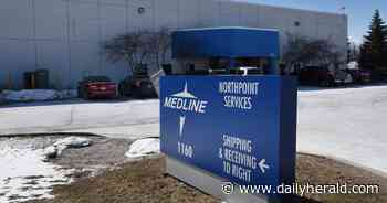 Medline testing equipment that could allow Waukegan factory to use ethylene oxide again