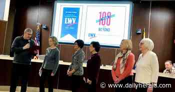Palatine honors 100th anniversary of League of Women Voters