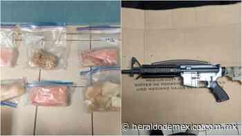 Decomisan totoaba, armas y droga en San Felipe, Baja California - El Heraldo de México