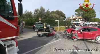 Le immagini dell'incidente di Polverigi - Corriere Adriatico