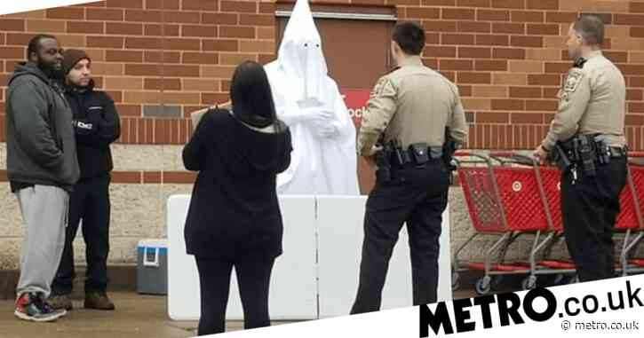 Cops confront 'KKK member' at store to find he is black man conducting 'social experiment'