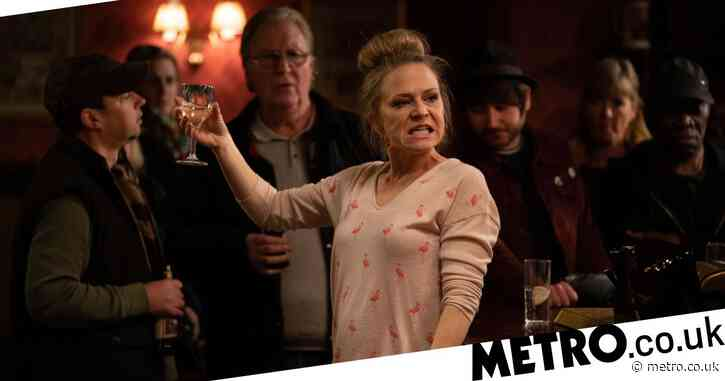 EastEnders spoilers: Drunk Linda Carter causes a scene as she airs her and Mick's dirty laundry in The Queen Vic