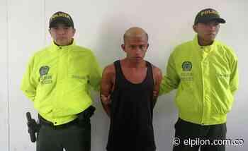 Capturado por agredir a policías en Becerril - ElPilón.com.co