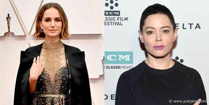Natalie Portman Responds to Rose McGowan Slamming Her Oscars Dress
