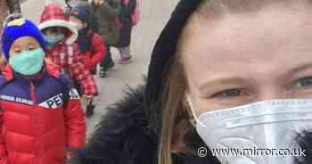 Brit teacher, 25, in coronavirus-hit city refusing to come home from 'apocalypse'