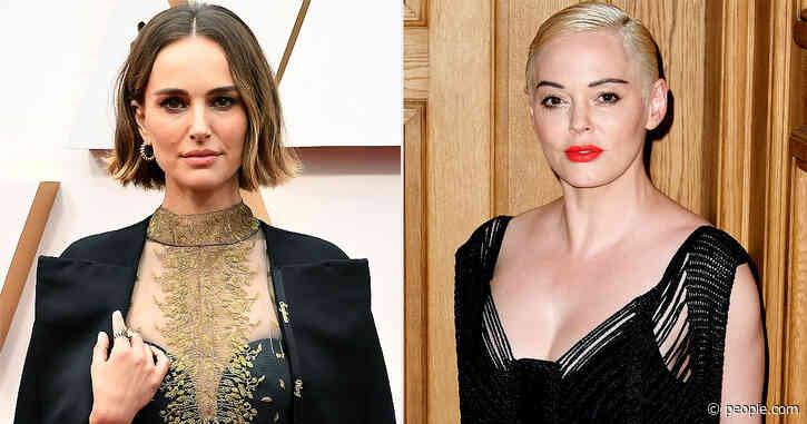 Natalie Portman 'Agrees' with Rose McGowan's Dig That Her Oscars Protest Wasn't 'Brave'