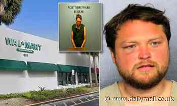 Man charged with trying to rape woman in Florida Walmart