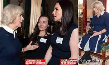 Duchess tells REBECCA ENGLISH how her own friends have suffered domestic violence