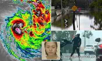 Woman feared swept away in floods in Gold Coast as Sydney set to be smashed AGAIN