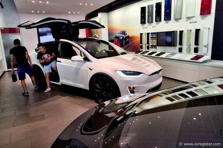 Tesla recalls 15,000 older Model X SUVs