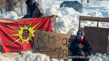 Day 3 of pipeline protests forces cancellation of Exo's Candiac line; governments argue over who should enforce injunctions - CTV News