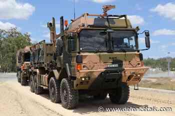 Australia Declares IoC for Rheinmetall MAN high mobility logistics vehicles
