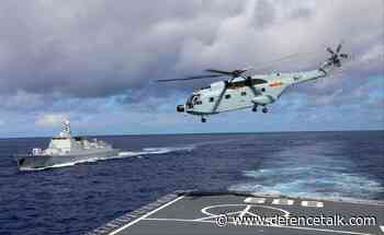 Chinese Military Conducts Joint Air-Sea Drill Near Taiwan Island