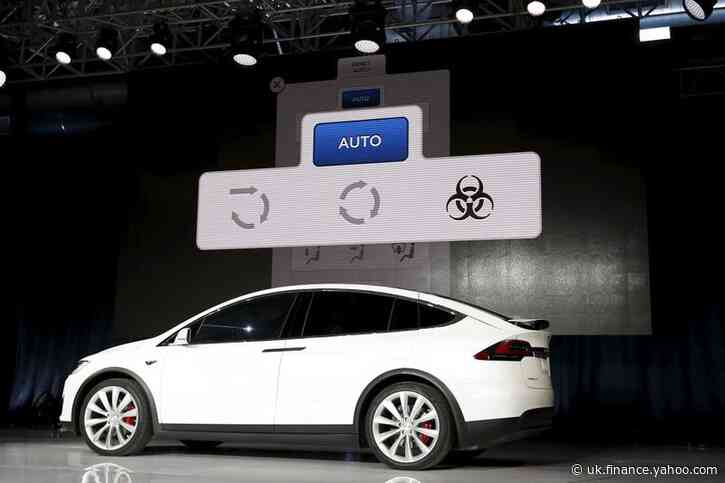 Tesla recalls 15,000 Model X SUVs for power steering issue in North America