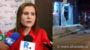 Atentado con explosivo en Montelíbano fue un hecho aislado al paro nacional - El Heraldo (Colombia)