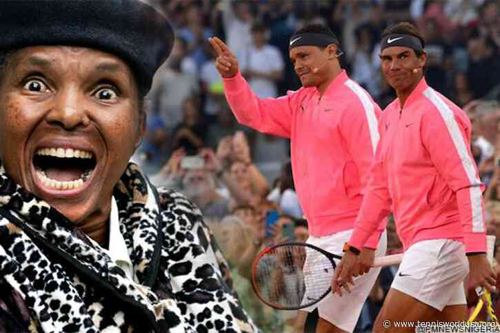 Trevor Noah didn't let his mom know he hung out with Roger Federer and Rafael Nadal