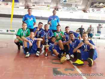 Itatinga é vice-campeã em competição Sub-16 de Futsal - Farol Notícias