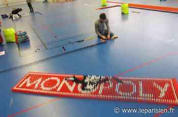 Dominos Day à Palaiseau : rejoignez l'équipe des bâtisseurs en posant 87000 pièces ! - Le Parisien